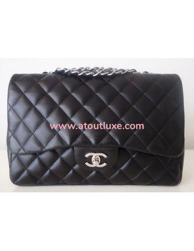Sac Chanel Classique Gm noir