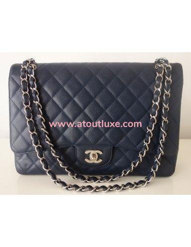 Sac Chanel Classique bleu marine