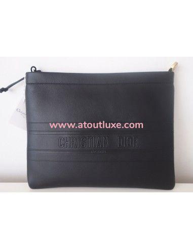 Grande pochette stripe pouch Dior