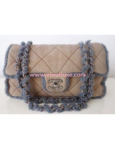 Sac Chanel Classique shearling